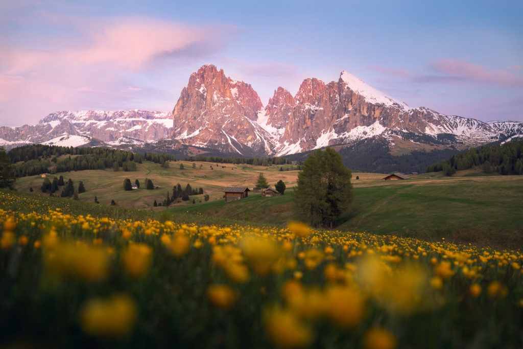 Dolomites alpages montagnes