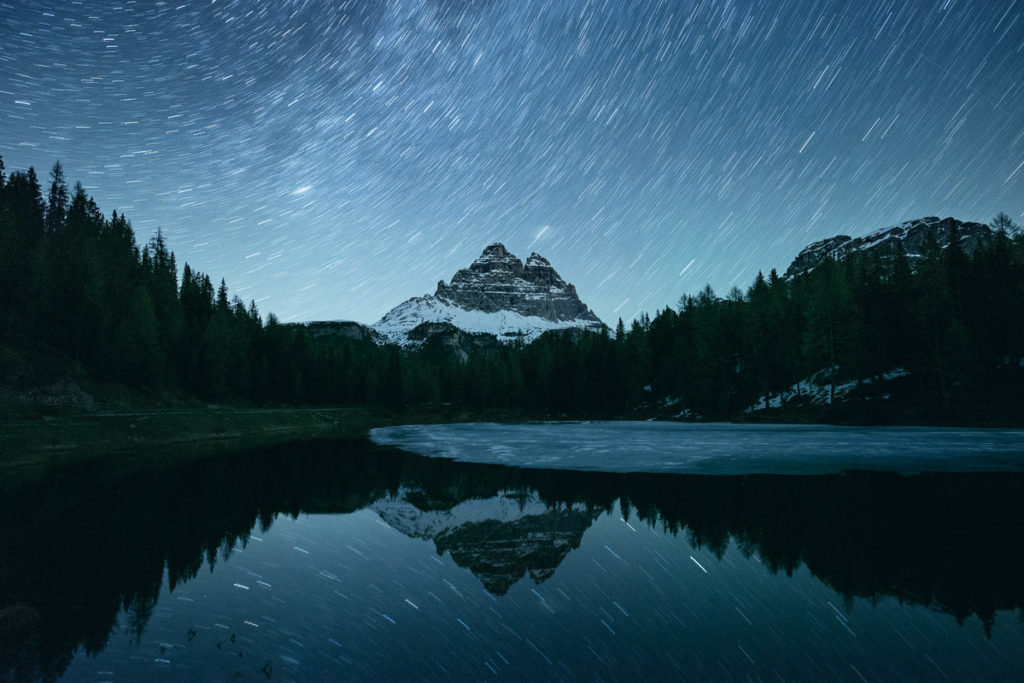 Astrophotographie Circumpolaire Dolomites